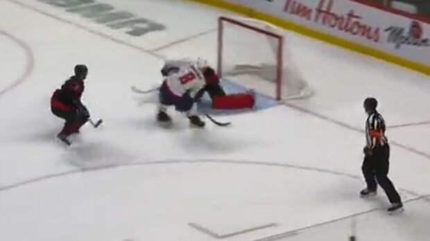 Овечкин вышел в лидеры снайперской гонки в НХЛ