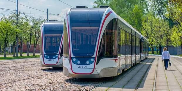 В Бабушкинском протестировали работу трамваев в период жары