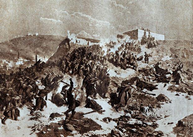 Взятие Карса в 1829 г. русскими войсками