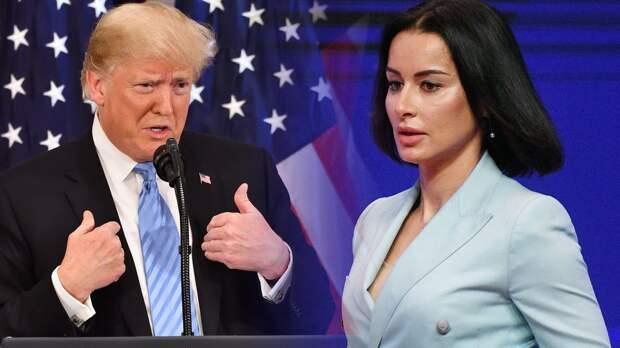 Канделаки обвинила Трампа в ложных утверждениях по поводу коронавируса в США