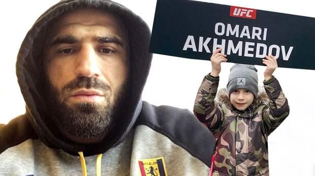 """""""Сын подходит и спрашивает: """"Папа, ты проиграл?"""". Он дерется в UFC дольше Хабиба - ветеран из Дагестана Ахмедов"""