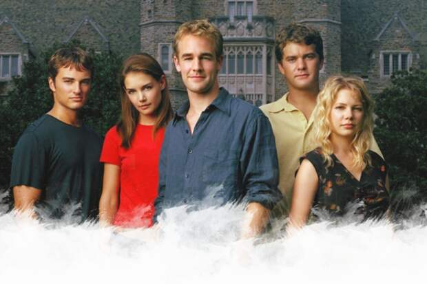 Молодежный сериал, который мы впервые увидели по ТВ в 1999. Дружба, любовь, ревность... Если вы помните и этих героев, вы — настоящий телеветеран :)