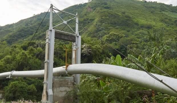 Индейцы вновь захватили нефтепровод вПеру