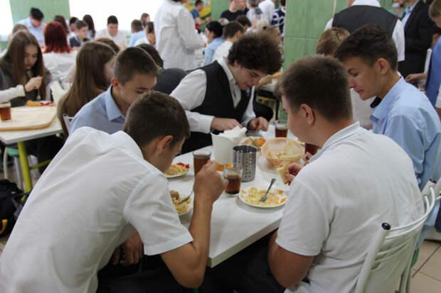 В Тимашевском районе внедрили новую систему школьного питания