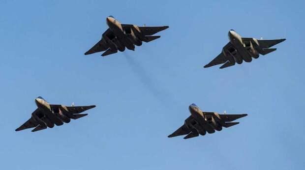 Су-57 сделают носителем группы беспилотников