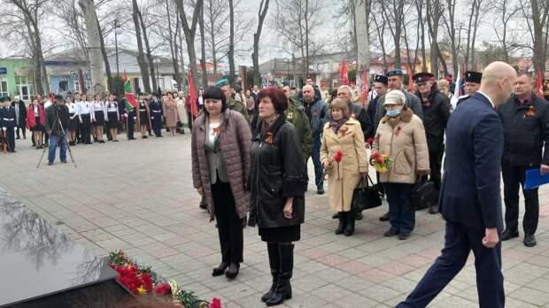 13 апреля Советский район отметил 77 годовщину освобождения от фашистских захватчиков