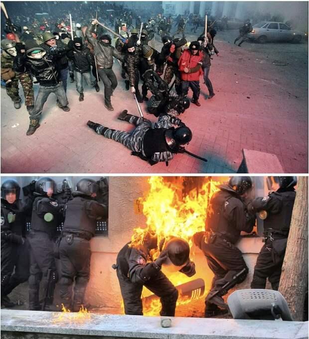 """Мы это уже видели. В 2014-м на украинском Майдане. Сергей """"Zergulio"""" Колясников"""