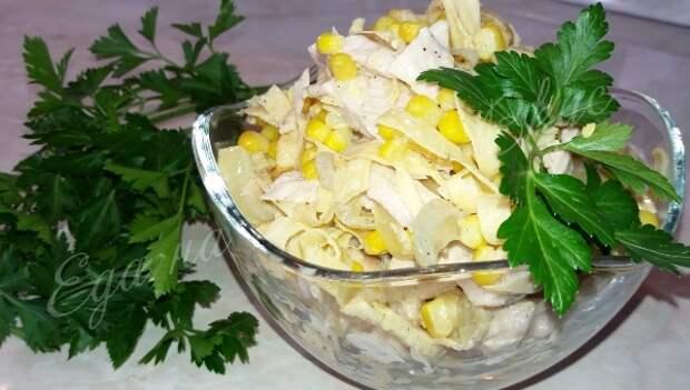 САЛАТ «Загадка» - так вкусно, что всегда мало! салат, курица, салат с курицей, еда, кулинария, видео рецепт, длиннопост