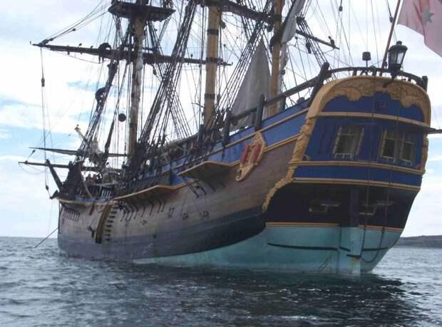 Индевор корабль кука