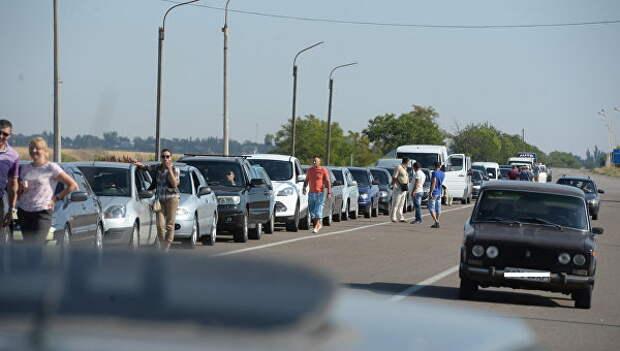 Украина продолжает строить лживую «картинку» для своих граждан про Крым