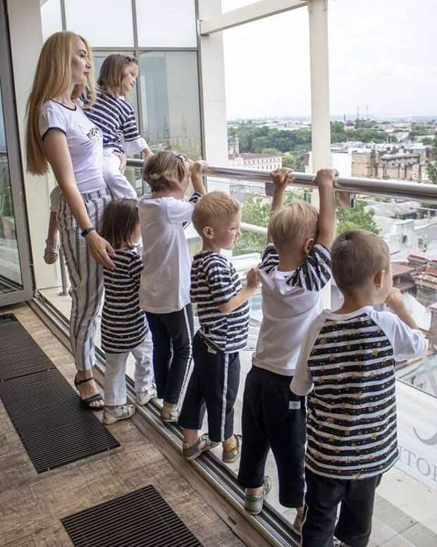 Истории семей, где родилось 5 детей сразу