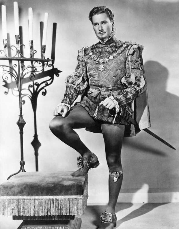 Эррол Флинн. Благородный разбойник Старого Голливуда.