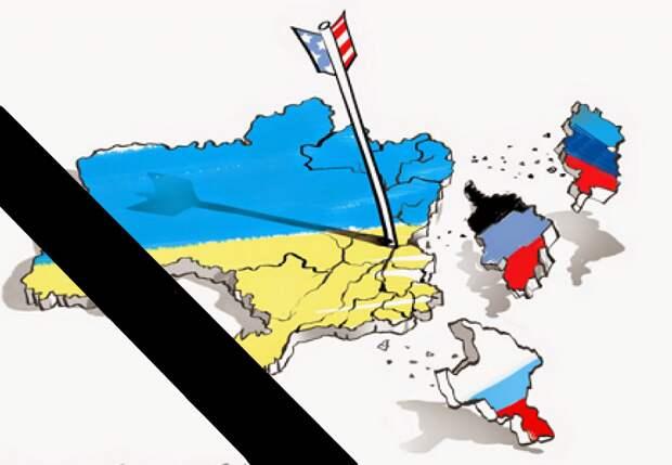 Украина вернёт Крым и Донбасс прилепив их к карте
