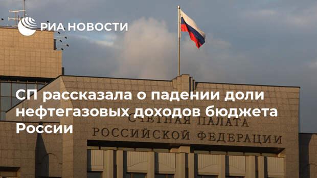 СП рассказала о падении доли нефтегазовых доходов бюджета России
