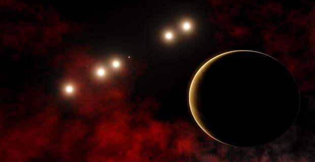Телескоп TESS нашел трижды двойную звездную систему