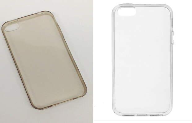 Как очистить прозрачный силиконовый чехол для мобильного телефона