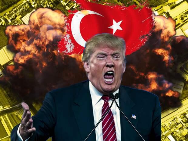 Трамп заявил о готовности начать военные действия против Турции