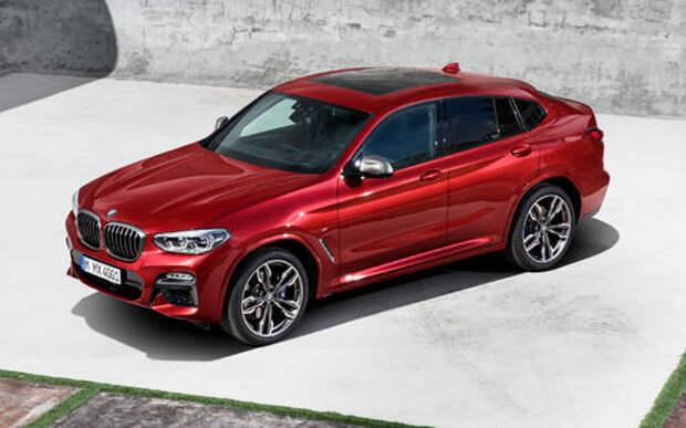Новый BMW X4: искусство маскировки