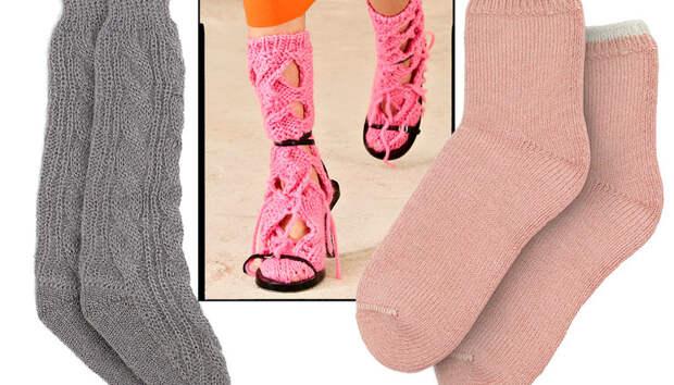 Теплые и уютные носки — не только необходимость, но и тренд