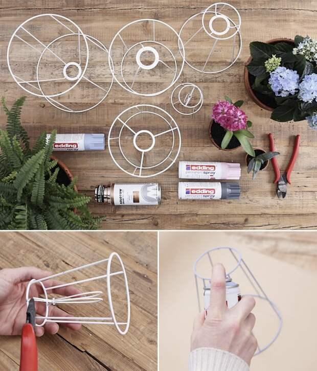Оригинальные и простые в исполнении подставки для цветов с пошаговым мастер-классом
