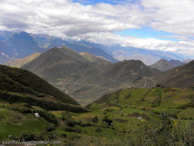 Перу: Леймебамба и дорога в Кахамарку