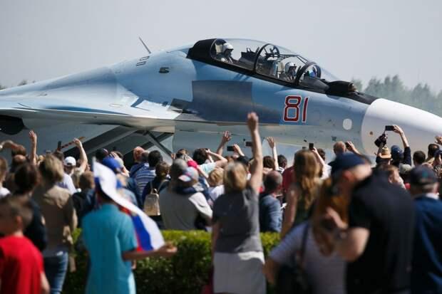 80 лет авиацентру в Кубинке