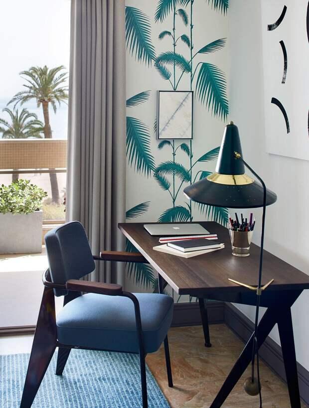 Обои для однокомнатной квартиры: расцветки и рекомендации (68 фото)