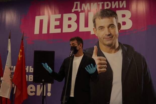 Дмитрий Певцов выдвинется в депутаты Госдумы по Медведковскому округу Москвы