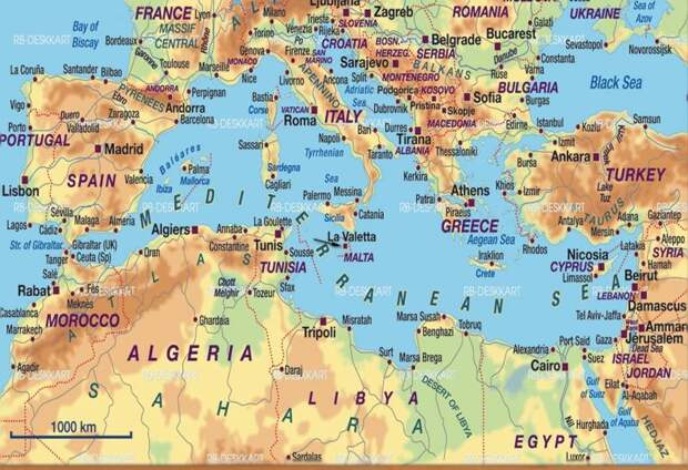 Исламские пираты Средиземного моря