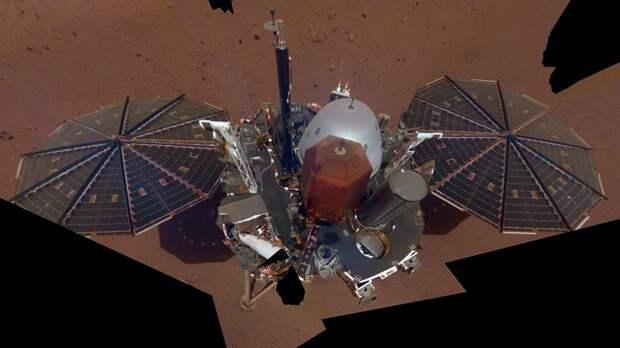Марсианский климат может вывести из строя американский зонд InSight