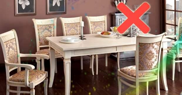 Что категорически запрещено держать на столе, чтобы в доме были богатство и счастье