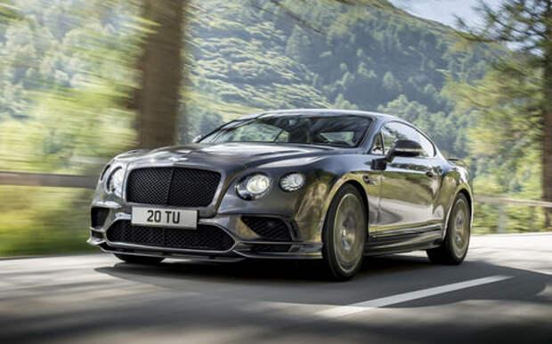 В России отзывают Bentley из-за глючной электроники