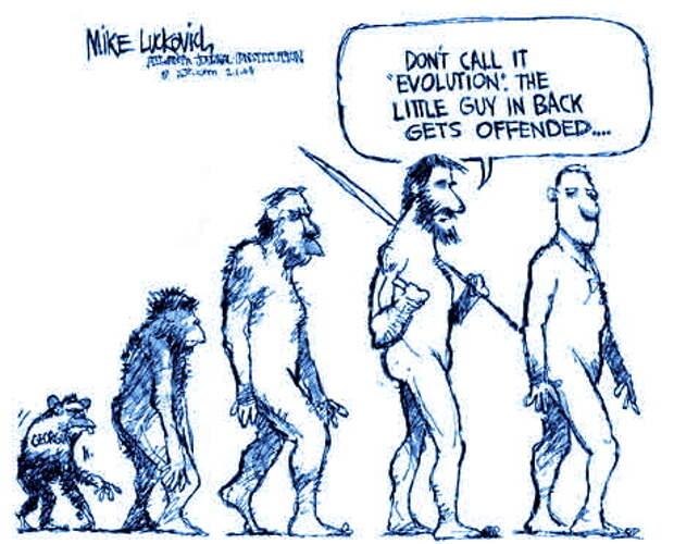 Об эволюции человека в вопросах-ответах