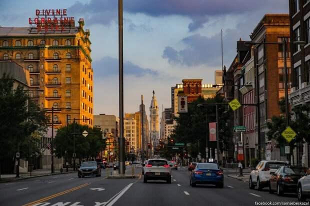 Увлекательная прогулка по улицам Филадельфии