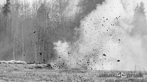 В Донбассе на мине подорвался трактор