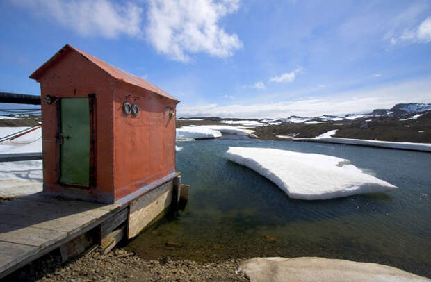 Один день в Антарктиде