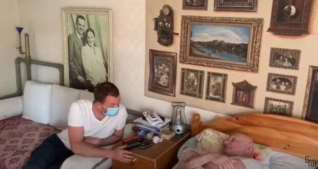 Внук призвал защитить дедушку-фронтовика, которого оскорбил навальный