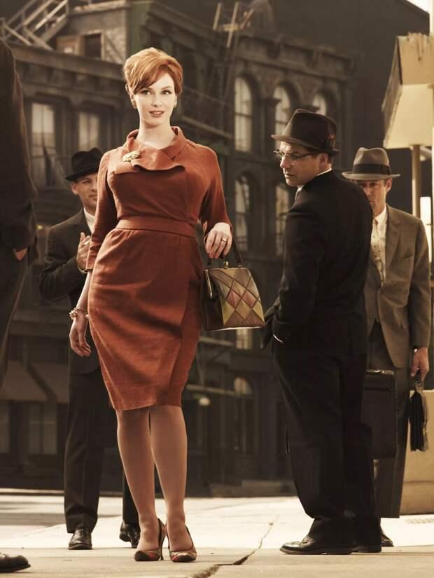 Самая эффектная рыжеволосая актриса в мире. Кристина Хендрикс.