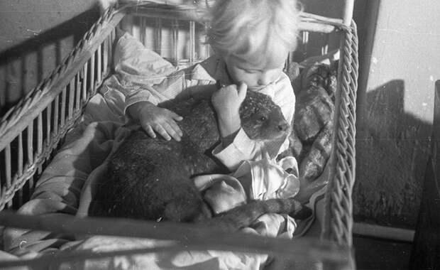 Терешка Жабинская, дочь Яна и Антонины, Варшава, 1947 г.