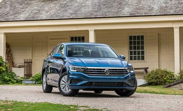Новый Volkswagen Jetta 2021 года