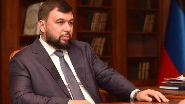 Глава ДНР Пушилин проголосовал онлайн на выборах депутатов Госдумы