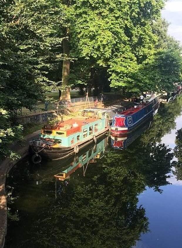 Теперь семья Кимберли может наслаждаться прогулками по каналам Великобритании аренда, баржа, великобритания, дом, жилье, ремонт, своими руками, фото