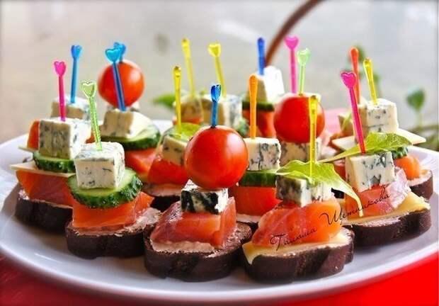Закуски на праздничный стол! 10 рецептов!