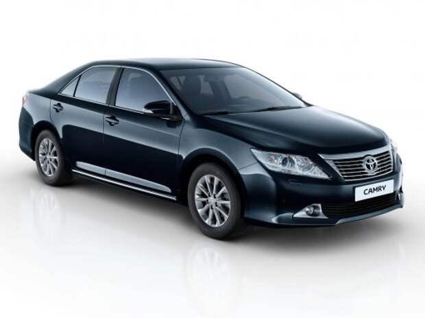 Toyota проверит в России более 100 тыс. Camry из-за возможных проблем с шаровыми опорами