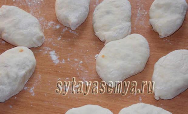 Пирожки из теста на газированной воде