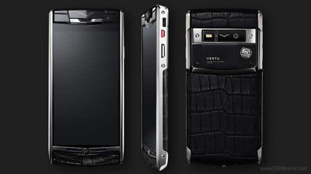 Vertu выпустила high-end люксовый смартфон Signature Touch
