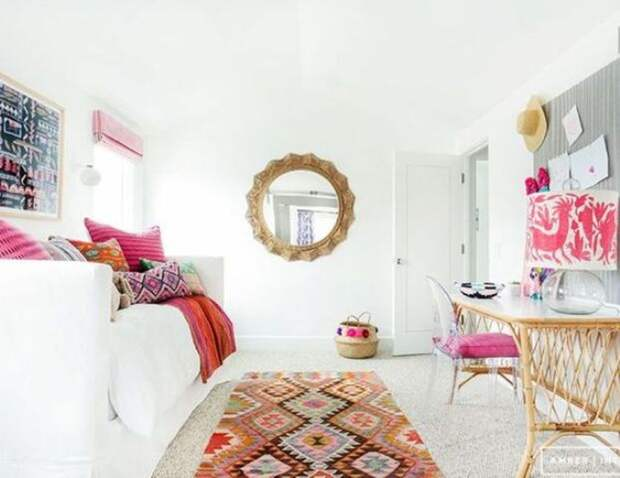 Спальня+офис: удачные идеи оптимизации пространства