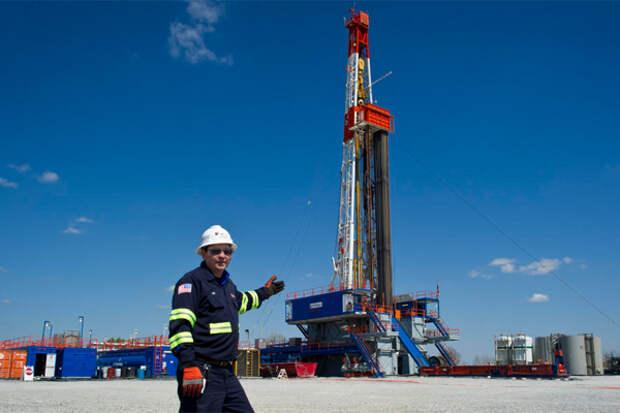 сланцы газ США