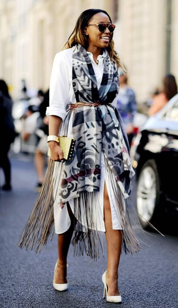 Необычные платья-рубашки (трафик)