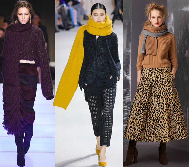 Вязаная одежда 2018-2019